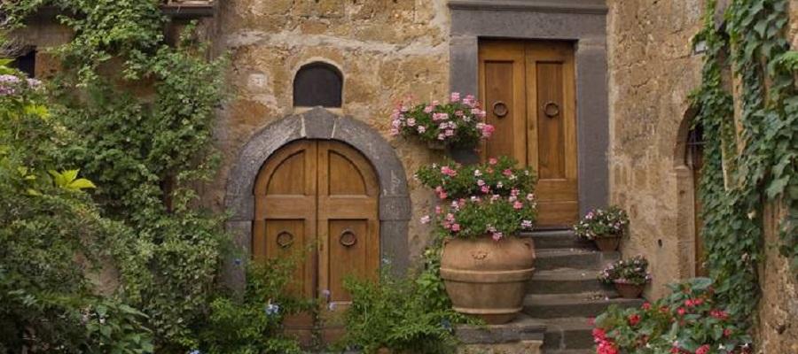 Civita di Bagnoregio na Itália