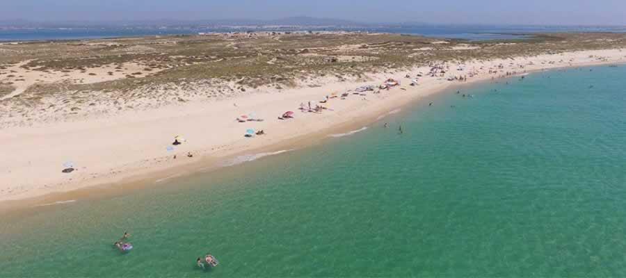Praia da Ilha do Farol Culatra