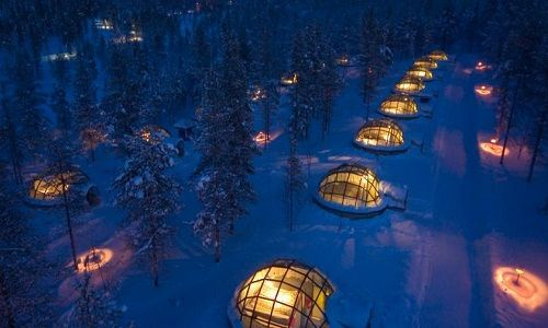 Igloos and Chalets Kakslauttanen Arctic Resort