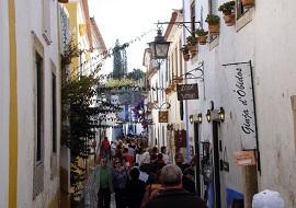 Óbidos - Rua Direita - Rua Principal